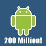 Google announces 200 million Android devices activated, 550,000 every day