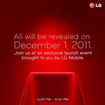 LG holding launch event on December 1st, LG Nitro to be unleashed?