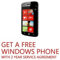 Microsoft offers you a free Windows Phone on Black Friday