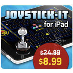 iPad gaming accessory sale – $59.99 iCade, $8.99 JOYSTICK-IT