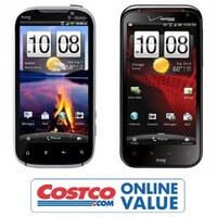 HTC Amaze 4G and HTC Rezound put on sale today at Costco