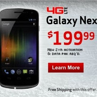 Samsung Galaxy Nexus ad promises $199 price, hints at Nov 29th release