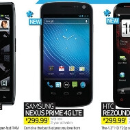 Samsung Nexus Prime in Best Buy's weekly ad for $299 on contract starting November 27