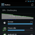 Some Galaxy Nexus users reporting odd battery readings