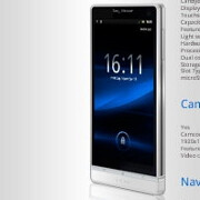 Alleged Sony Ericsson Nozomi official render leaks