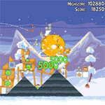 Angry Birds Seasons: Wreck the Halls brings 25 new levels of holiday themed fun