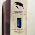 Some Samsung GALAXY Nexus accessories for Verizon pictured and priced