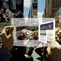 Samsung's new video on flexible transparent 3D AMOLED tablet concept is mesmerizing