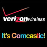 Comcast will begin offering Verizon Wireless service in select markets in 2012