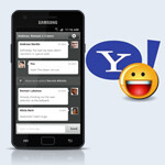 Yahoo enters the messaging fray, brings Hub beta to Android