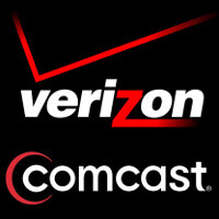 Comcast, Time Warner Cable to start selling Verizon Wireless products in 2012t