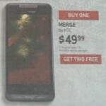 Thought to be a third party relic, Verizon's HTC Merge shows up in Xmas ad