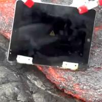 Watch an iPad 2 meet its maker in a lava pit