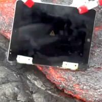 Watch an iPad 2 meet its maker in a lava pit