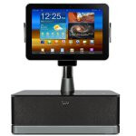 Accessory maker iLuv brings the first audio docking station for the Samsung Galaxy Tab