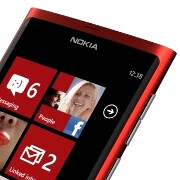 Alleged Nokia Lumia 900 render appears in red