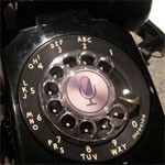 Siri in a rotary phone