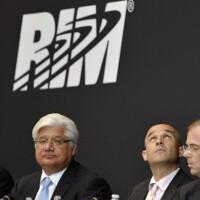 RIM's co-executives cut their annual salaries to $1