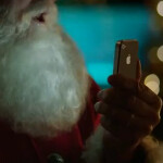 Santa appears in latest Apple iPhone 4S ad, using Siri to help him make his deliveries