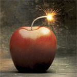 Small explosion at Apple supplier plant