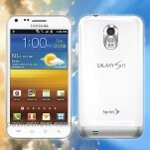 Rendered image of Sprint's Samsung Epic 4G Touch doused in a white paint job is leaked