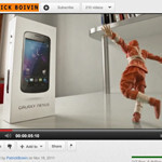Ninja unboxing of the Galaxy Nexus – 8-bit game now included