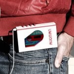 Audman's case for the iPhone turns it into an iconic looking Walkman cassette player