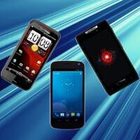Speed test showdown: Verizon Galaxy Nexus vs Motorola DROID RAZR vs HTC Rezound