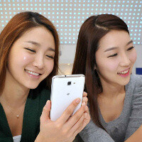 Samsung Galaxy Note dresses in white for the Holidays, currently released only in Korea