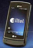 LG GLIMMER – Alltel's touch phone!
