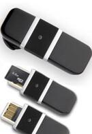 Bluetrek Bizz combines Bluetooth headset and USB memory