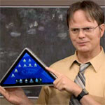 Developer launches a Kickstarter project to build the triangle tablet from 'The Office'