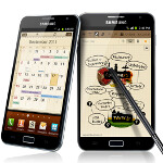 Rendering of Samsung GALAXY Note shows AT&T branding