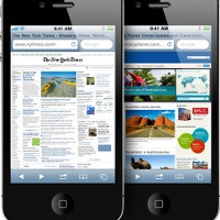 iOS dominates mobile platforms for web browsing in 2011