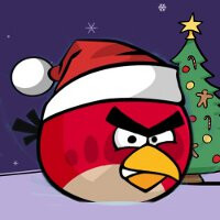 Angry Birds was downloaded a whopping 6.5 million times on Christmas