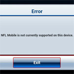 NFL Mobile updated for ICS, still doesn't work on Galaxy Nexus