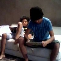 What to do with an iPad and annoying younger brother