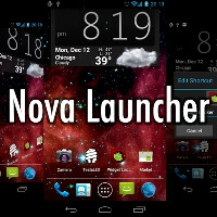 Nova Launcher expands the Android ICS interface functionality, with or without root