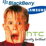 RIM to license BB10 to Samsung and HTC?