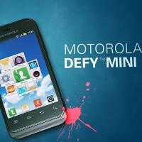 Motorola Defy Mini announced: a compact ruggedized Gingerbread warrior