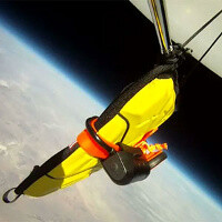 iPad free falls from space, survives to tell the story