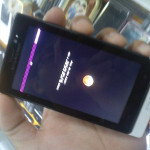 New Sony Ericsson Xperia model code named Pepper, gets blurry treatment on camera