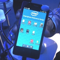Here is what an Intel smartphone reference design looks like