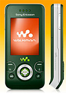 Sony Ericsson W580 gets a jungle green image
