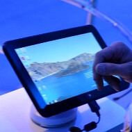 Intel actually has a Clover Trail-powered tablet on display at CES