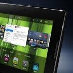 BlackBerry PlayBook 2.0 software demonstration