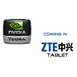 """ZTE shows off 7"""" Tegra 3 tablet"""