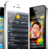 China gets the iPhone 4S tomorrow, Friday the 13th - thousands already lined up to pay $60 a month