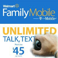 Walmart's Family Mobile plan for T-Mobile has been upgraded to include unlimited data - throttled speeds though
