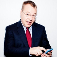 """Stephen Elop calls the Nokia Lumias """"first real Windows Phones"""", all others hedging their bets"""